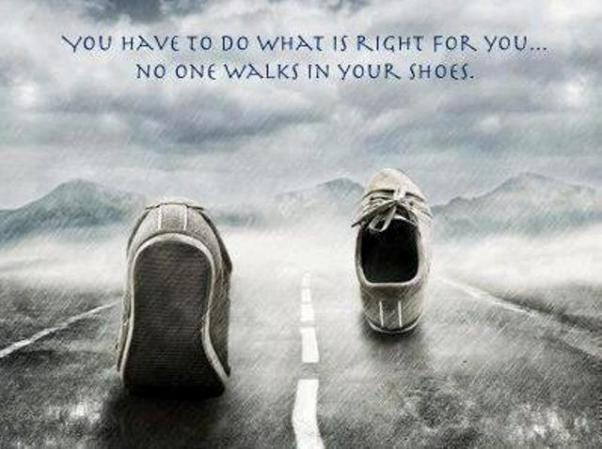 walks in your shoes ~ blog